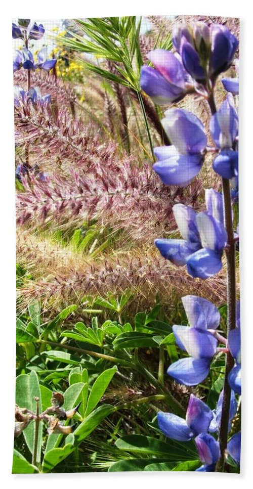 Flower Beach Towel featuring the photograph Wild Flower by Shari Chavira