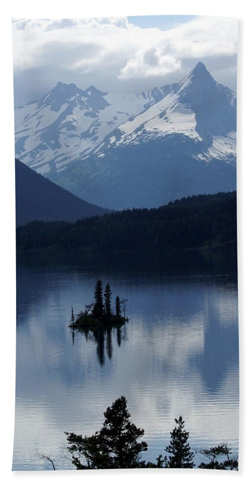 Wild Goose Island Beach Towel featuring the photograph Wild Goose Island by Marty Koch