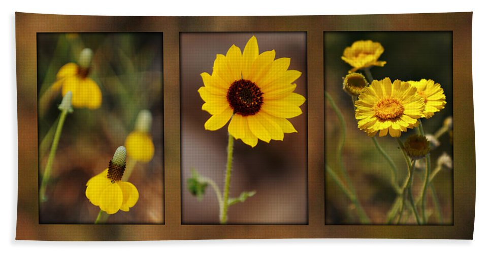 Wildflower Beach Towel featuring the photograph Wildflower 3 by Jill Reger