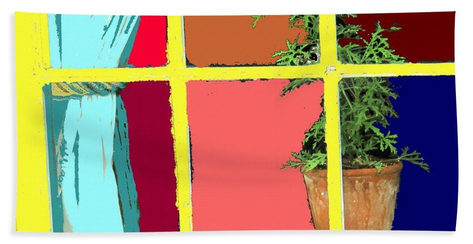 Window Beach Towel featuring the photograph Window by Ian MacDonald