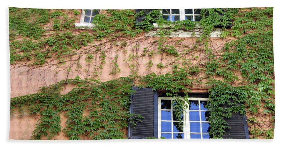 Window Beach Towel featuring the photograph Windows by Munir Alawi