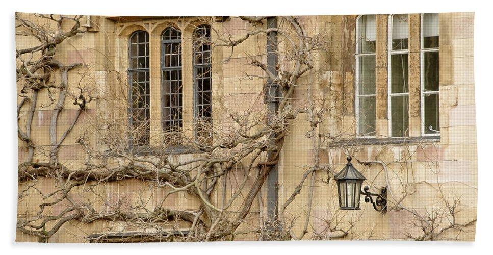 Windows Beach Towel featuring the photograph Winter Windows. by Elena Perelman