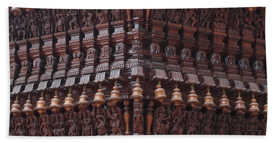 Art Beach Towel featuring the photograph Wooden Ratha by Satish Kumar