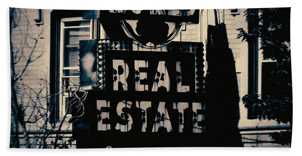 Lincolnwood Historic District Beach Towel featuring the photograph World Real Estate Chicago by Kyle Hanson
