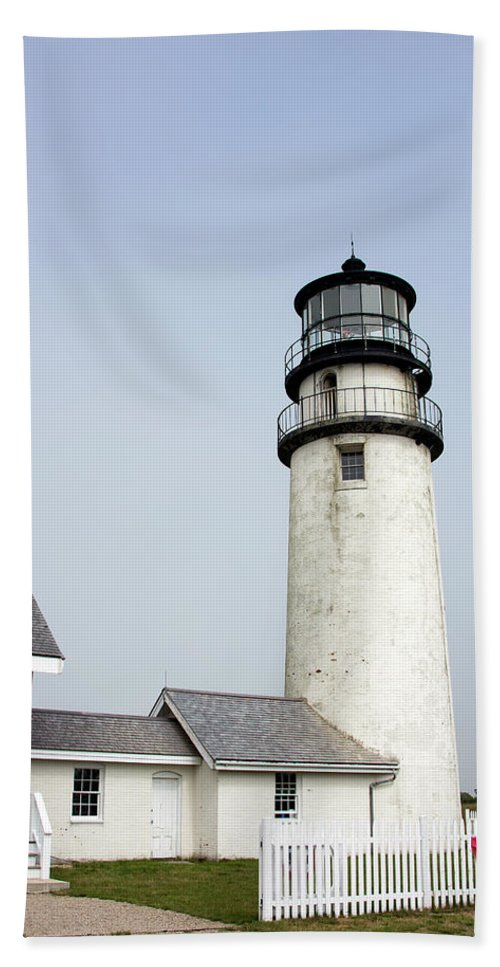 Highland Light Beach Towel featuring the photograph Highland Light - Cape Cod National Seashore 4 by Brendan Reals