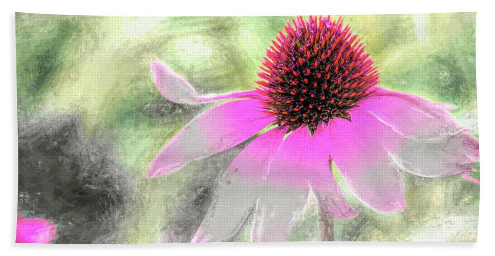 Blossom Beach Towel featuring the photograph After Me by Jean OKeeffe Macro Abundance Art