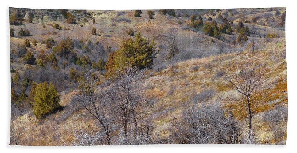 North Dakota Beach Sheet featuring the photograph April Prairie Reverie by Cris Fulton