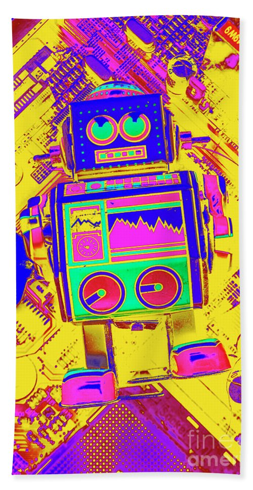 Toy Beach Towel featuring the photograph Automated Nostalgia by Jorgo Photography - Wall Art Gallery