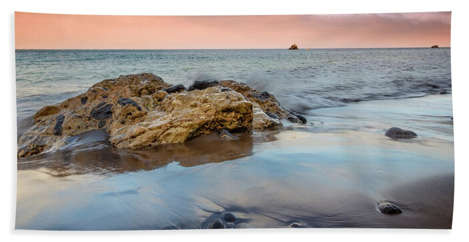 Channel Beach Towel featuring the photograph Channel Islands National Park Vii by Ricky Barnard