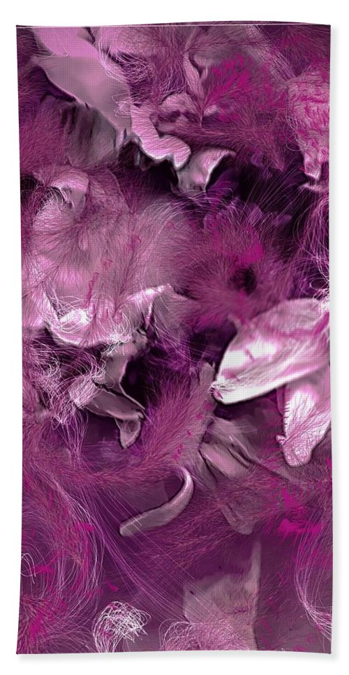 Pink Beach Towel featuring the digital art Cheyenne Angel by Cindy Greenstein
