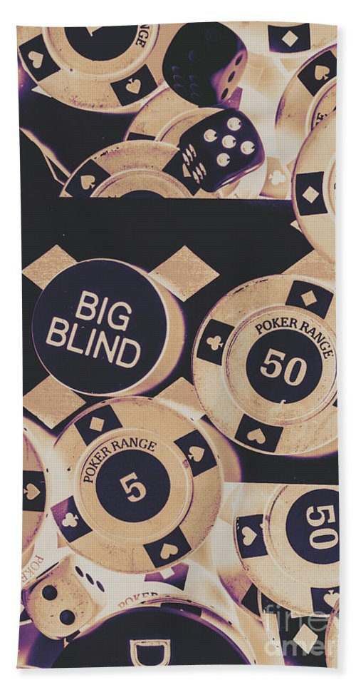 Game Beach Towel featuring the photograph Diamond Odds by Jorgo Photography - Wall Art Gallery