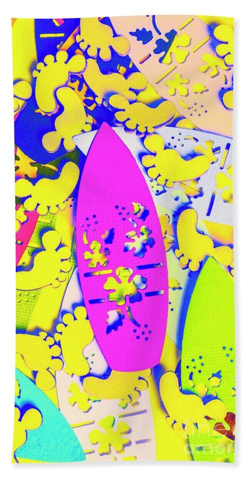 Hawaiian Beach Towel featuring the photograph Hawaiian Design by Jorgo Photography - Wall Art Gallery