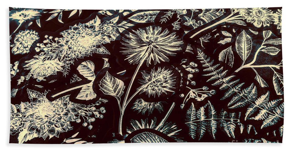 Background Beach Towel featuring the photograph Jungle Flatlay by Jorgo Photography - Wall Art Gallery