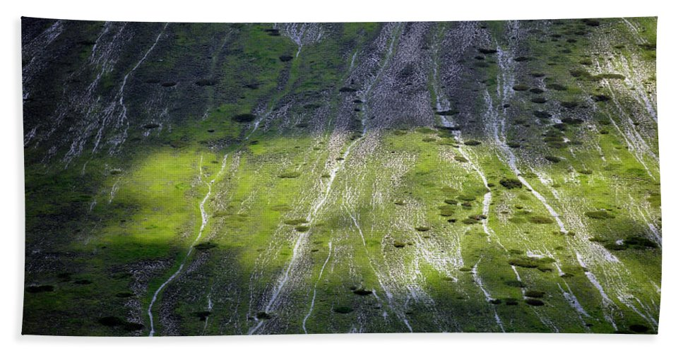 Mountain Beach Towel featuring the photograph Mt. Sibillini, Italy by Dubi Roman