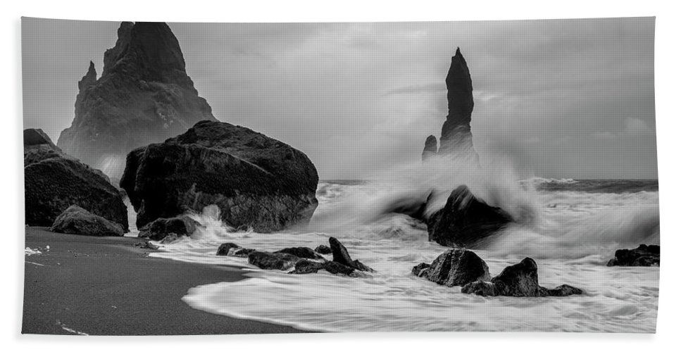 Photography Beach Towel featuring the photograph Raw Power by Danny Head