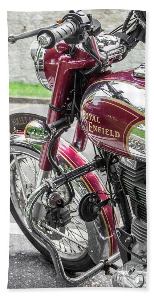 Royal Enfield Bullet 500 Classic Beach Towel