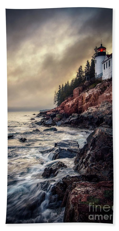 Bass Harbor Beach Sheet featuring the photograph Still The Same by Scott Thorp