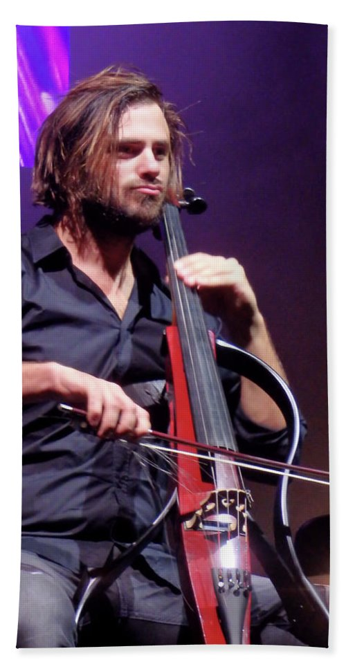 Stjepan Hauser Concentration Beach Towel