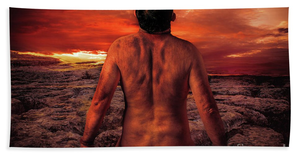 Sun Beach Towel featuring the photograph Sun Worshippers by Nigel Dudson