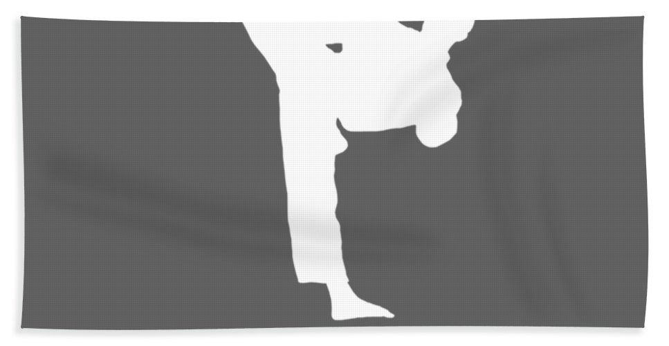 Taekwondo Beach Towel featuring the digital art Taekwondo Because You Might Run Out Of Ammo by Do David