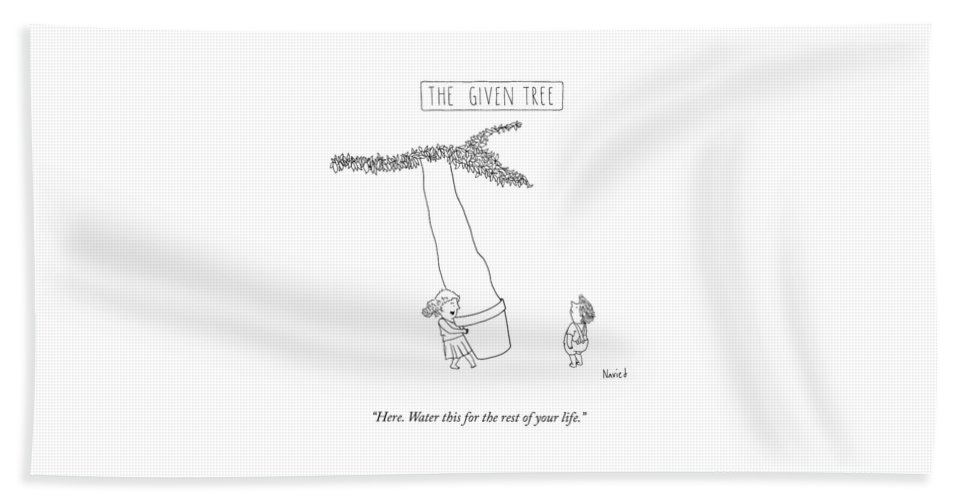 The Given Tree Beach Sheet