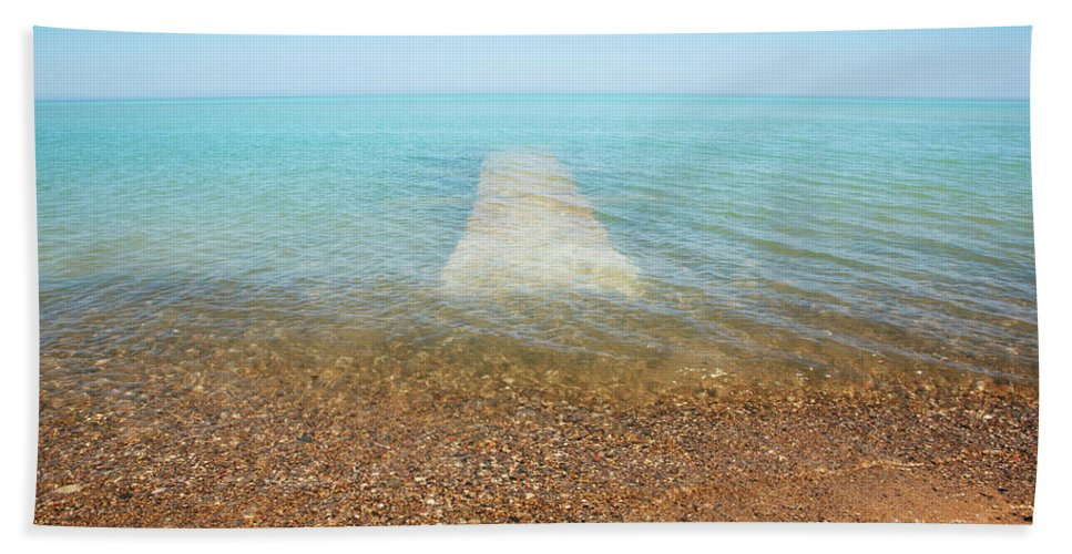 Global Warming Beach Towel featuring the photograph Global Warming by Marilyn Hunt