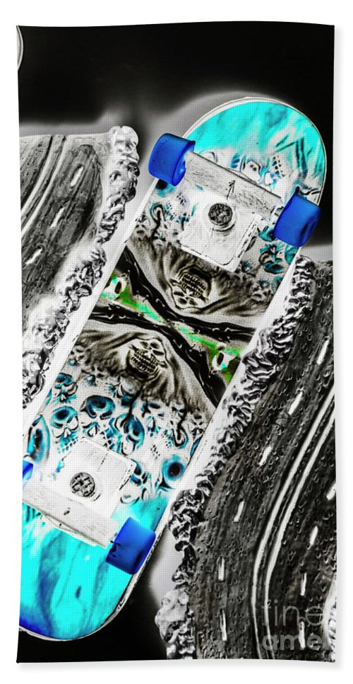Decks Beach Towel featuring the photograph Urban Tracks by Jorgo Photography - Wall Art Gallery