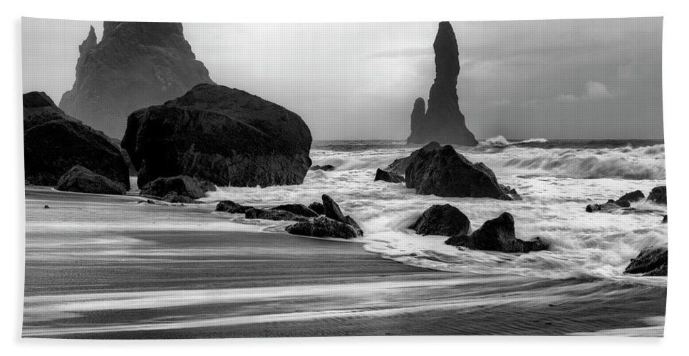 Photography Beach Towel featuring the photograph Wicked Waters by Danny Head