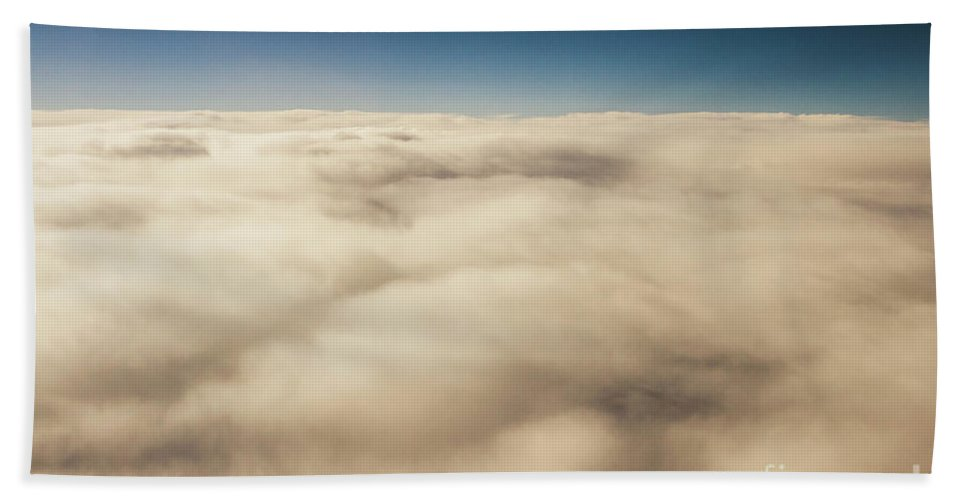 Cloud Beach Towel featuring the photograph Wispy Heavens by Jorgo Photography - Wall Art Gallery