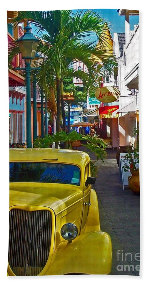 St. Martin Beach Towel featuring the photograph Nice Ride by Debbi Granruth