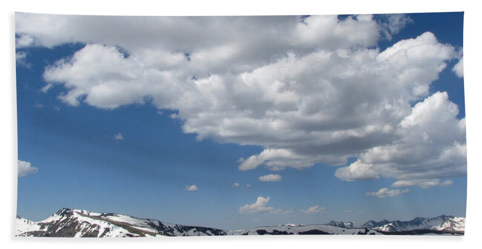 Mountains Beach Towel featuring the photograph Colorado by Amanda Barcon