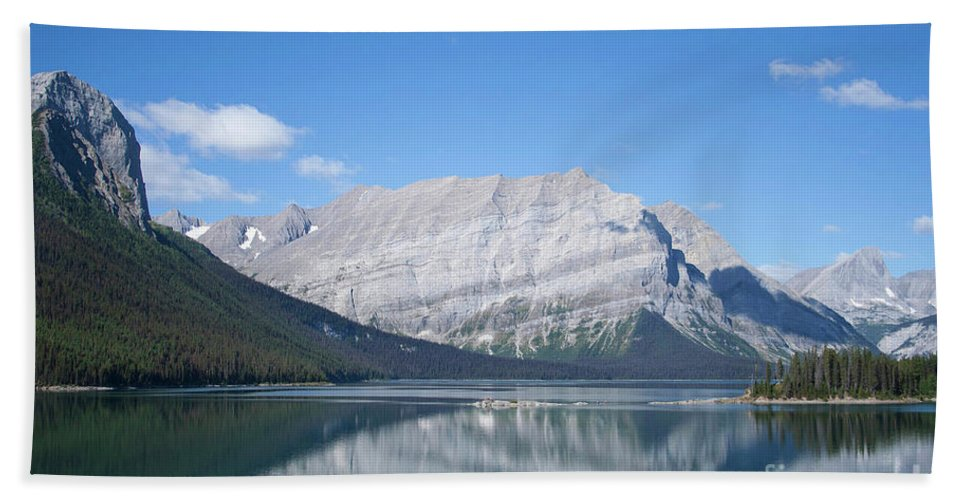 #kananaskis #lake #alberta #canada Beach Towel featuring the photograph Classic Kananaskis by Jacquelinemari