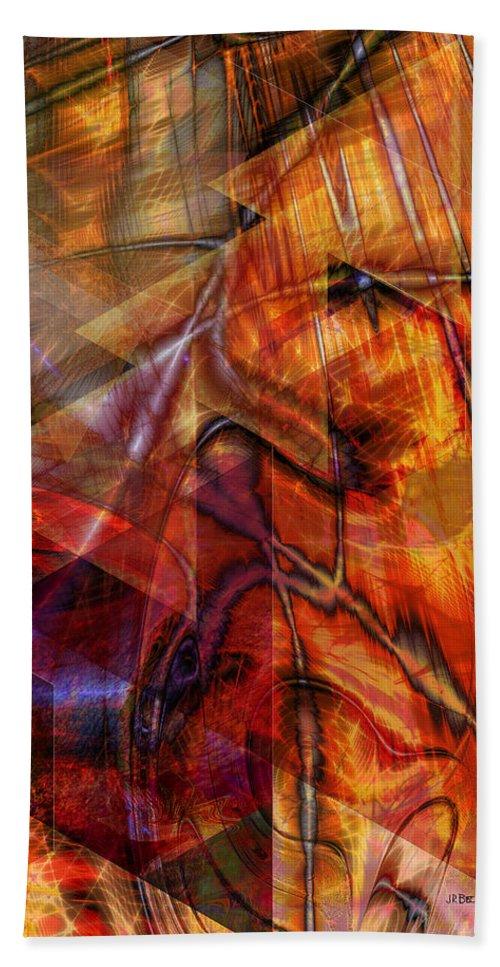 Deguello Sunrise Beach Towel featuring the digital art Deguello Sunrise by John Robert Beck