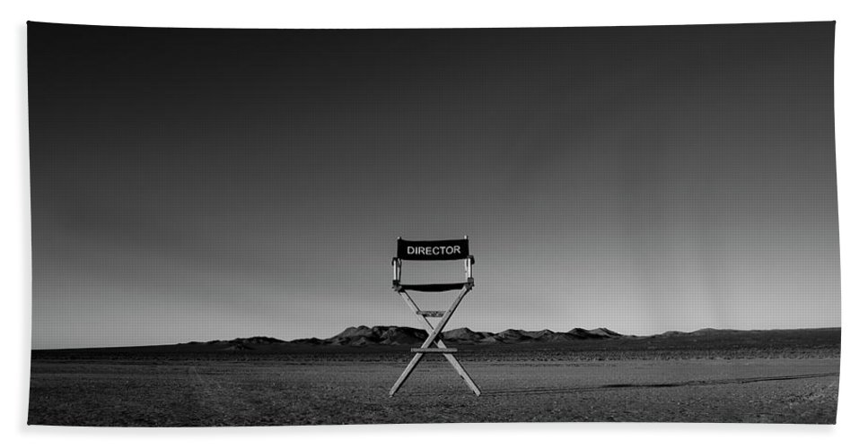 Beach Towel featuring the photograph Director's Cut by Brendan North