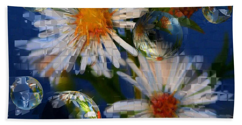 Flowers Beach Towel featuring the photograph Flower World by Linda Sannuti