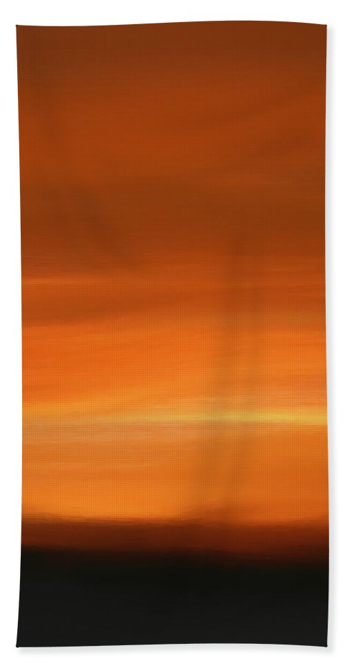 Forged In Fire Beach Towel featuring the painting Forged In Fire by Dan Sproul