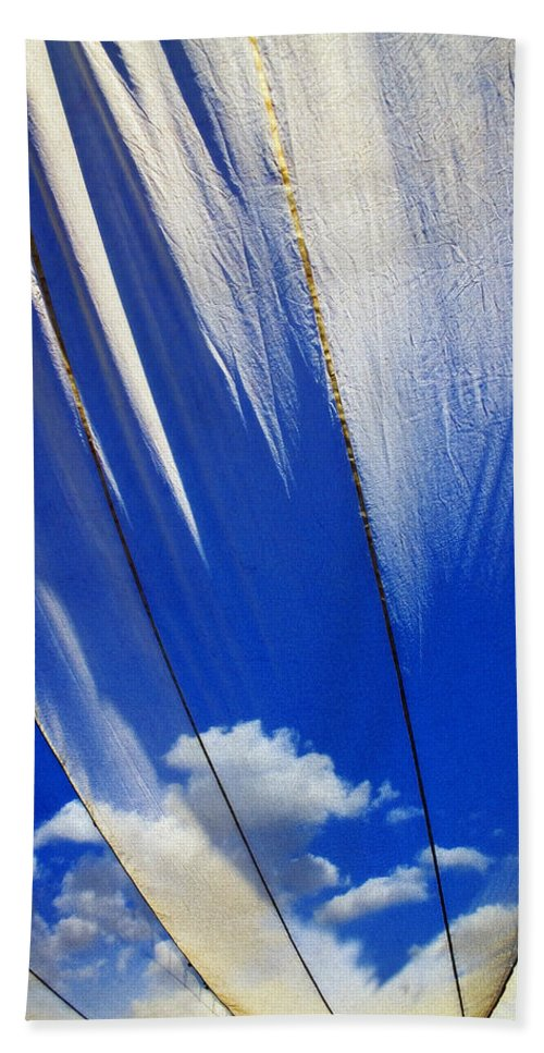 Heavenly Beach Towel featuring the photograph Heaven by Skip Hunt