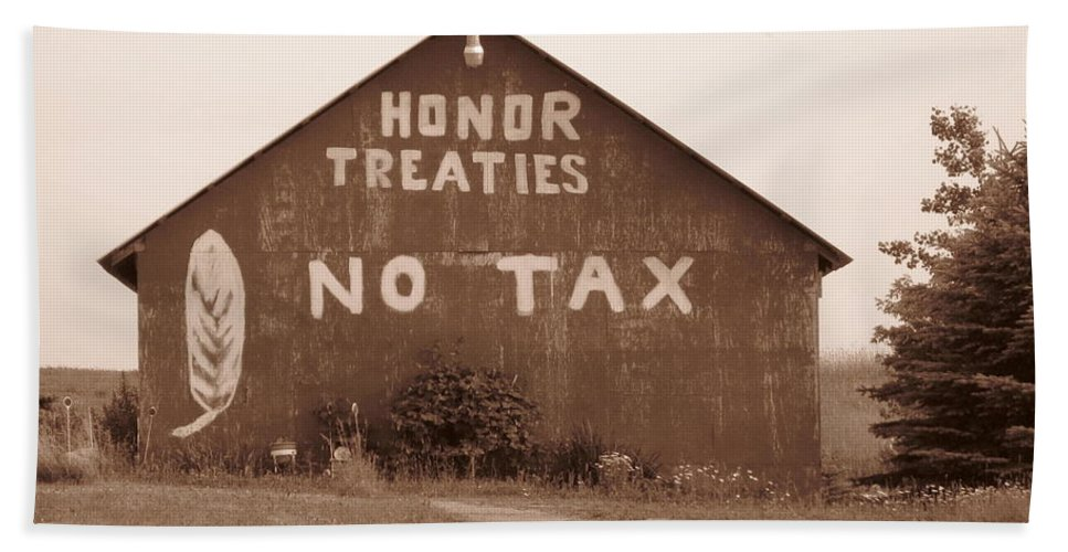 Barn Beach Towel featuring the photograph No Honor by Rhonda Barrett