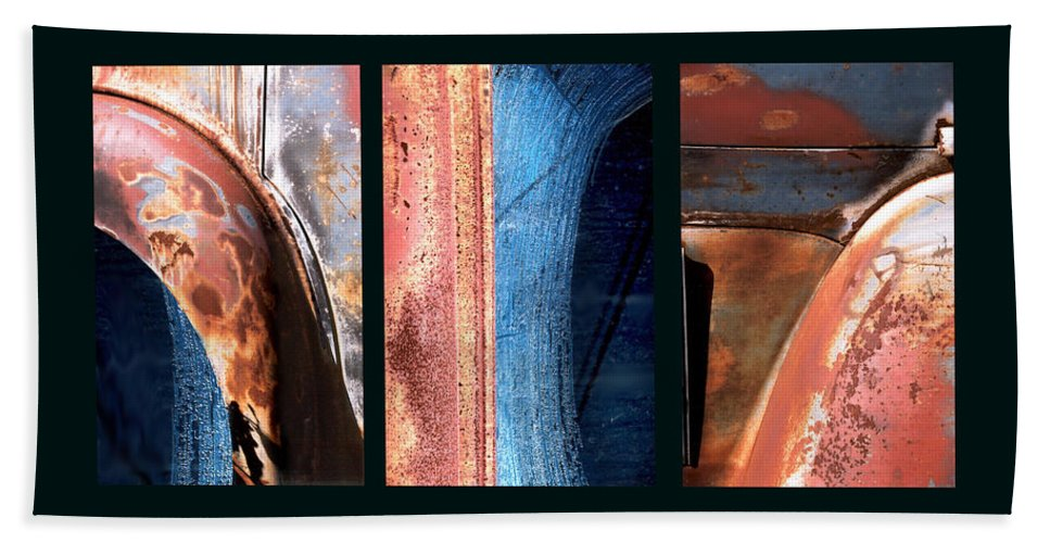 Abstract Beach Towel featuring the photograph Ole Bill by Steve Karol