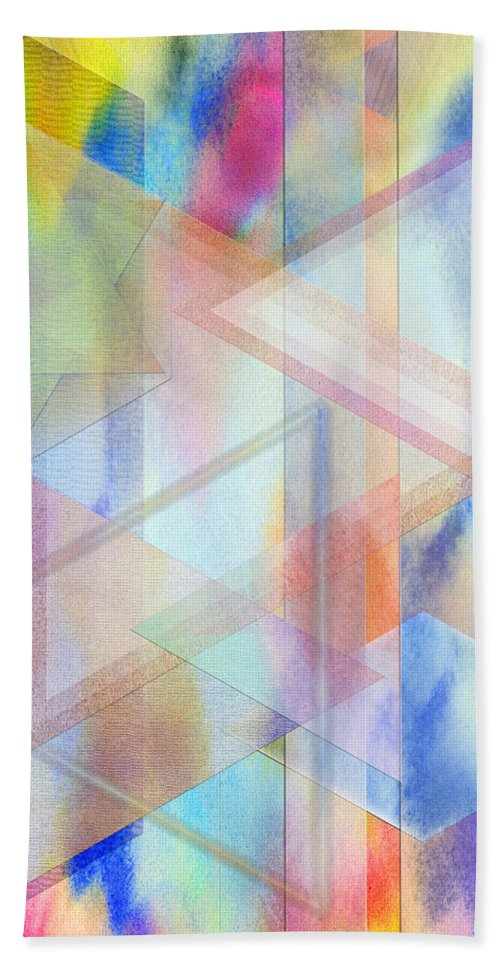 Pastoral Moment Beach Towel featuring the digital art Pastoral Moment by John Robert Beck