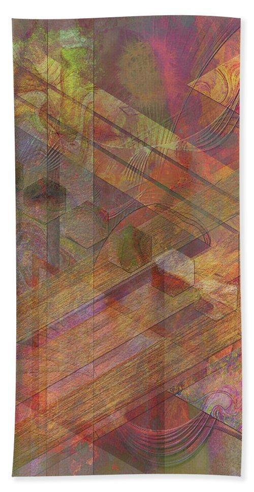 Soft Fantasia Beach Towel featuring the digital art Soft Fantasia by John Robert Beck