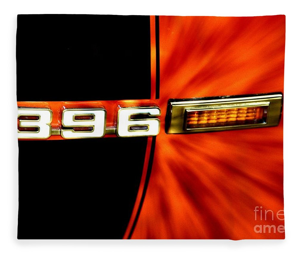 Chevrolet Fleece Blanket featuring the photograph Fast And Loud by Benanne Stiens