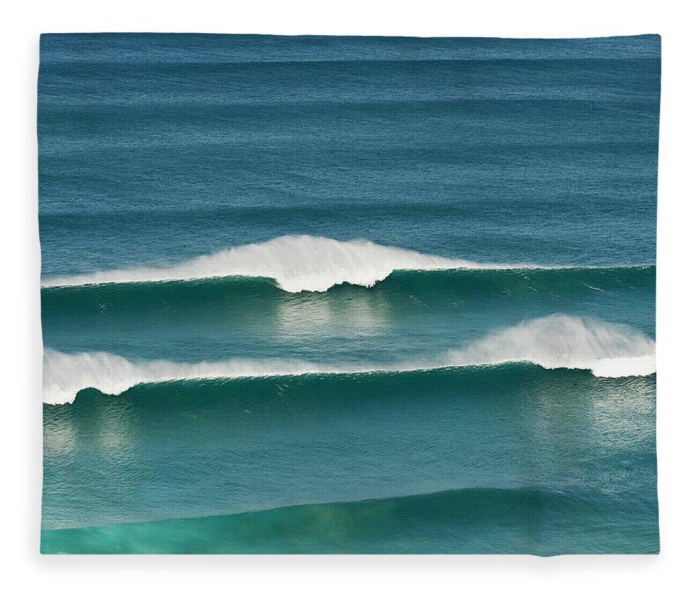 Algarve Fleece Blanket featuring the photograph Portugal, Algarve, Sagres, View Of by Westend61