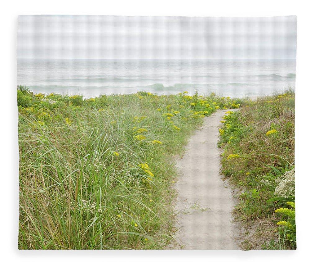 Tranquility Fleece Blanket featuring the photograph Usa, Massachusetts, Nantucket Island by Chuck Plante