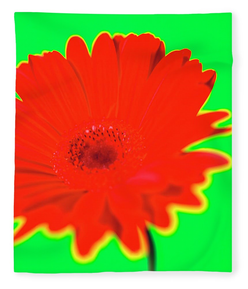Petal Fleece Blanket featuring the photograph Organic by Michael Banks