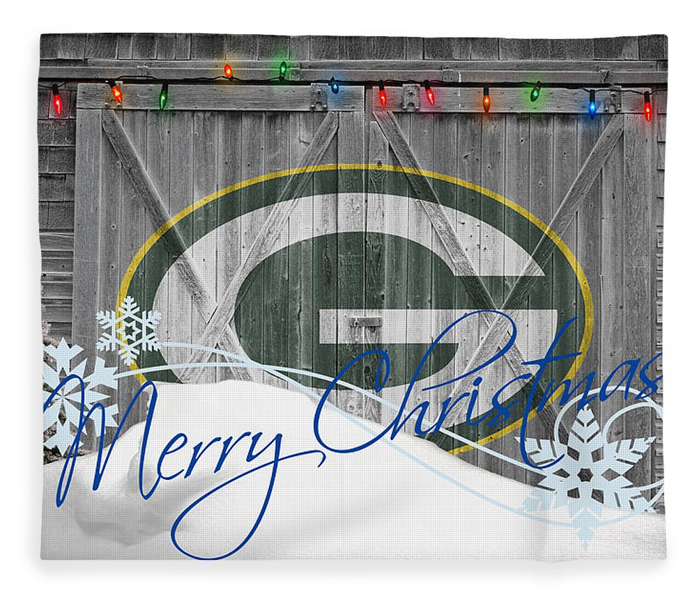 Packers Fleece Blanket featuring the photograph Green Bay Packers by Joe Hamilton