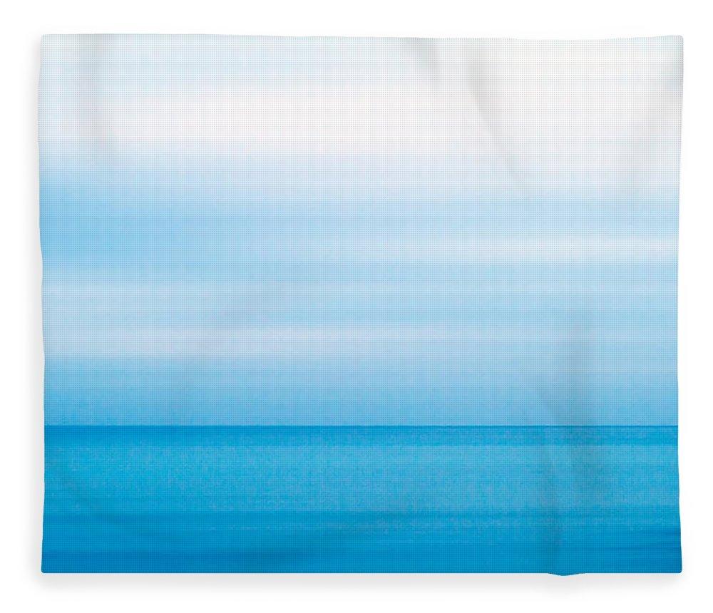 Background Fleece Blanket featuring the photograph Blue Mediterranean 3 by Stelios Kleanthous