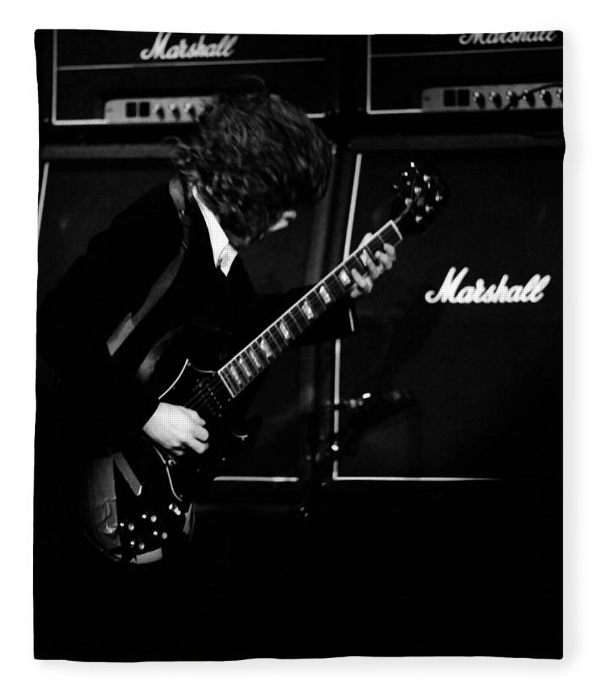 Ac Dc Fleece Blanket featuring the photograph Ac Dc #5 by Ben Upham