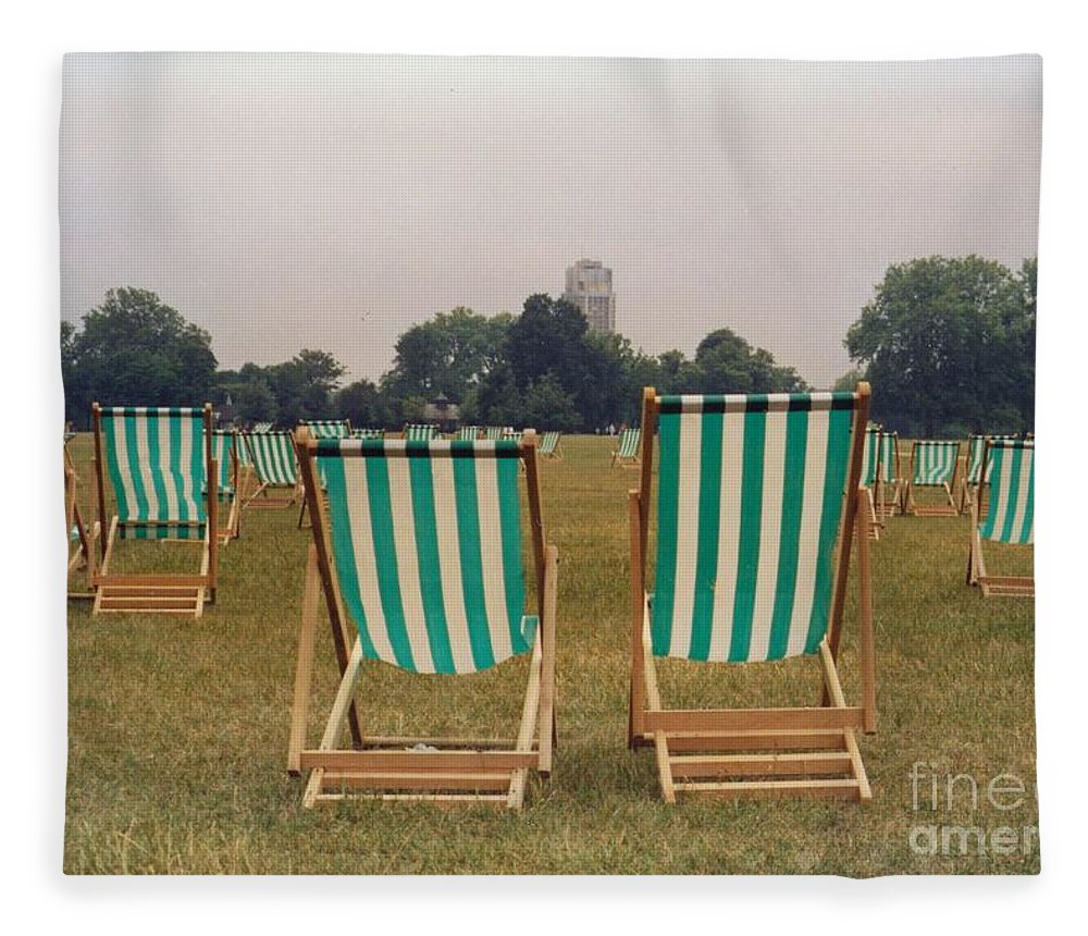 Hyde Park Fleece Blanket featuring the photograph Assemblage by Christine Jepsen