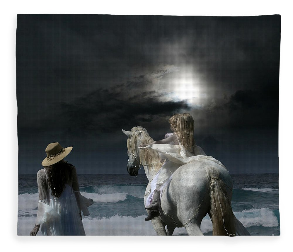 Beneath The Illusion In Colour Fleece Blanket featuring the photograph Beneath The Illusion In Colour by Sharon Mau